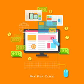 illustration of Pay per Click Marketing